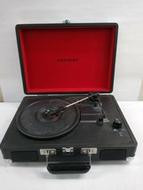 Crosley Cruiser CR8005A-BK Portable Turntable Record Player - $49.50