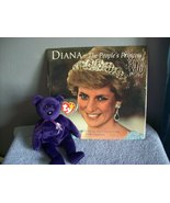 Princess Diana calendar and ty beanie baby collectibles - $20.00