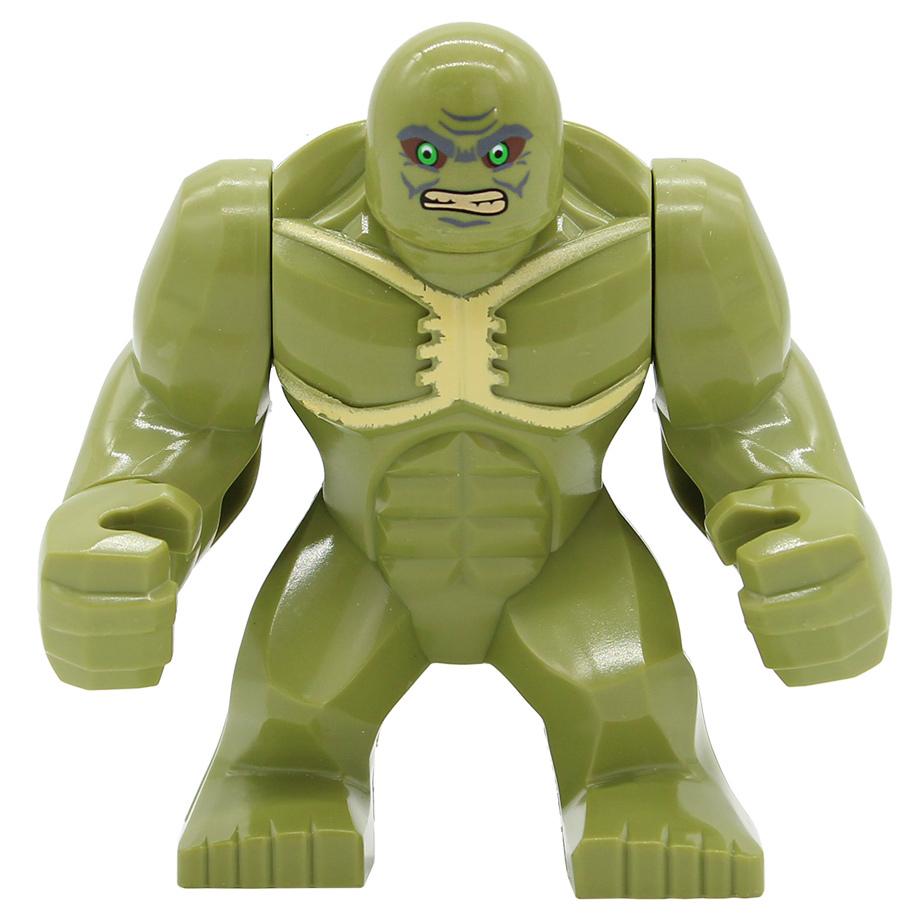 figure super hero building blocks dogshank abomination riot bane gorilla grodd mark 38 igor  1