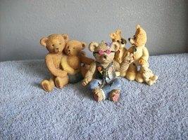 lot of 3  bear figurines - $9.99