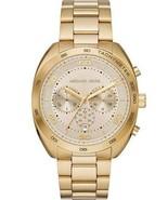 New Michael Kors Men Dane Gold-Tone Stainless Steel Watch MK 8623 - $185.12