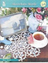Blue Stars Doily~Marvelous Motifs Crochet Pattern - $1.99