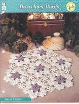 Sweet Violets Doily~Marvelous Motifs Crochet Pattern - $1.99