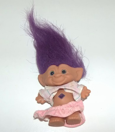 Troll with Purple Jewel by Ace Novelty Ace Novelty