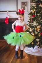 Grinch Tutu Dress, Girls Christmas Tutu, Christmas Pageant Tutu - $40.00+