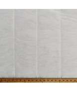 3M® Thinsulate® Thermal Insulation Insulator White Fabric by the Yard A4... - $7.97