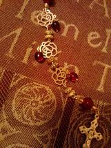 Cathedral Red Rosary - $25.67