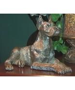 Silver Boxer Dog Figurine Italian by Artist Neno - $100.00