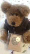 """Boyds Bears """" MR. TRUMBULL"""" #918330 1998 10"""" Plush Bear/Tie/Green Sweater - $9.89"""