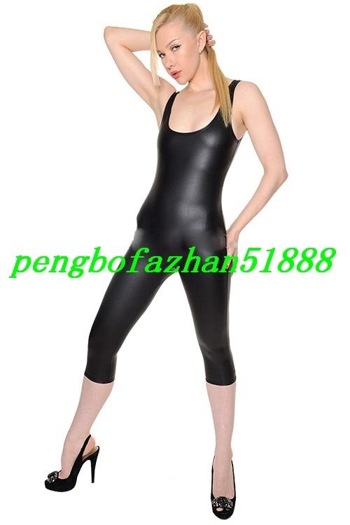 Sexy Body Suit Unisex Costumes 15 Color Shiny Metallic Catsuit Costumes S965