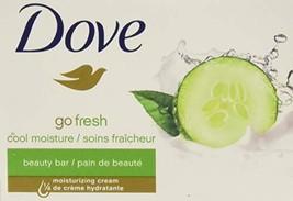 Dove Go Fresh Beauty Bar Cucumber and Green Tea 2 4-Ounce Bars 1 Pack