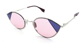 Fendi Sunglasses FF 0342/S AVBU1 51-23-140 Silver Pink / Pink Made in Italy - $98.49