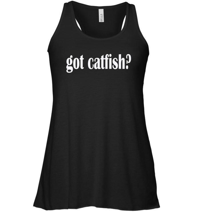 Got Catfish Flowy Racerback Tank Classic Fit Catfish Flowy Racerback Tank