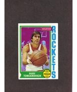 1974-75 Topps # 28 Rudy Tomjanovich Houston Rockets - $1.50