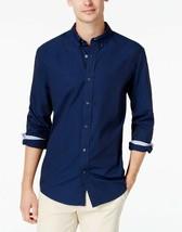 Tommy Hilfiger Men's Embroidered Martini Shirt XXL Navy Blazer - $33.65