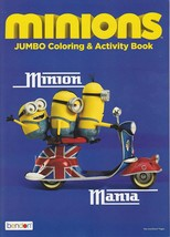 Despicable Me Minions Coloring and Activity Book - $5.93