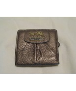 Gently Used Coach Bronze Mini Wallet - $25.00