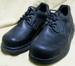 Red Wing MENs 9 Steel Toe Work safety Shoes BLACK 6618 Static Oil chemic... - $69.29