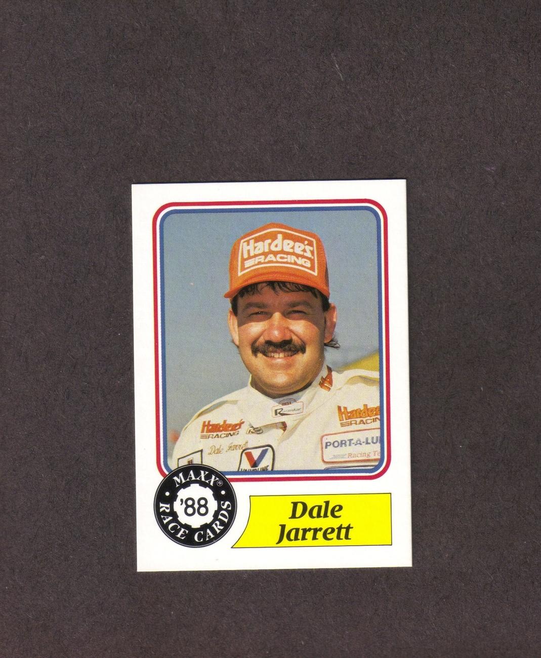 1988 Maxx # 61 Dale Jarrett Rookie Card Bonanza