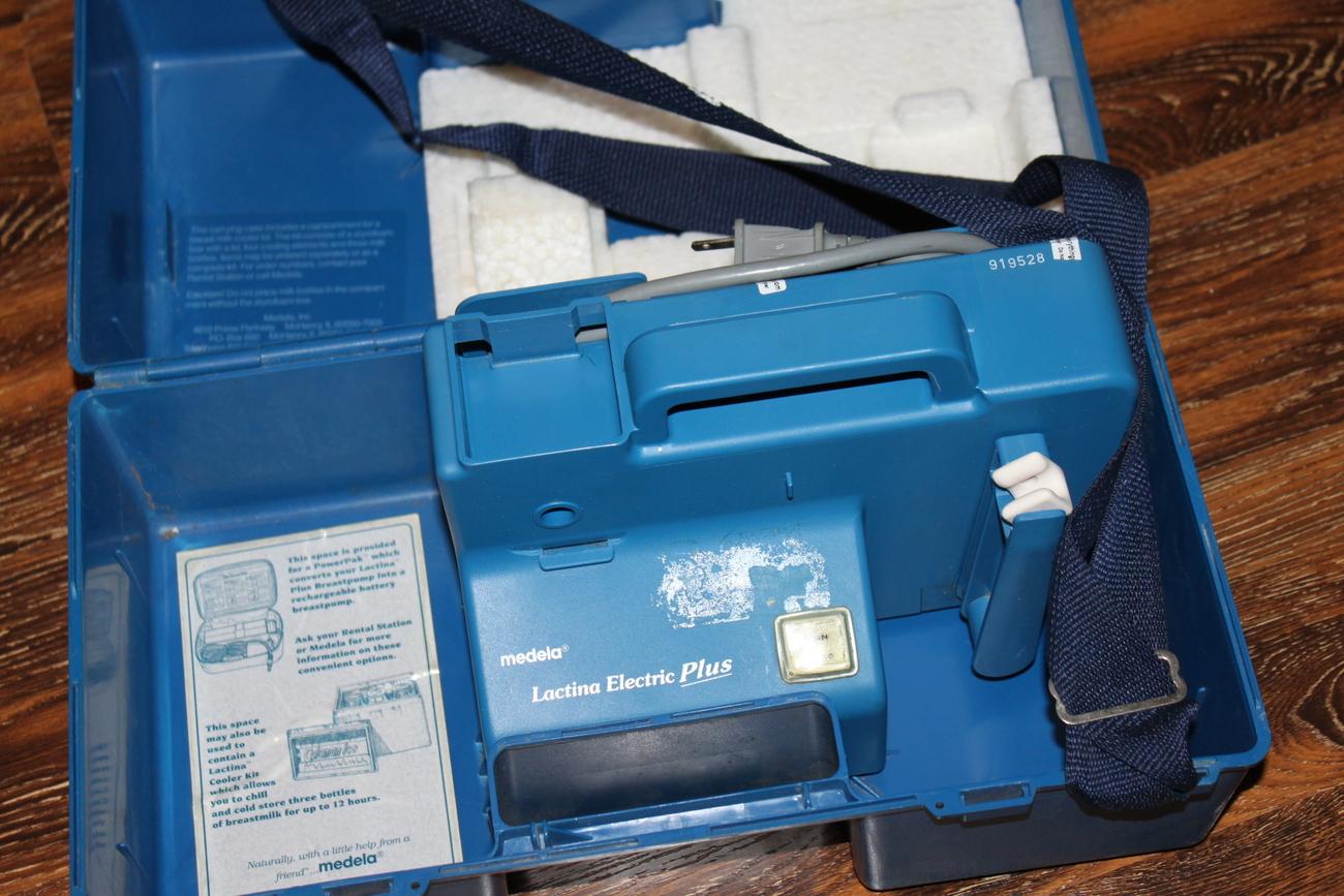 medela lactina hand pump instructions