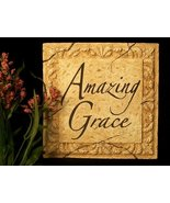 Amazing Grace Inspirational Plaque - $10.00