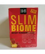Holland & Barrett Slimbiome Raspberry Flavour 21 Sachets  - $27.49