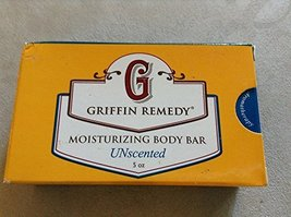 Griffin Remedy Unscented Moisturizing Body Bar