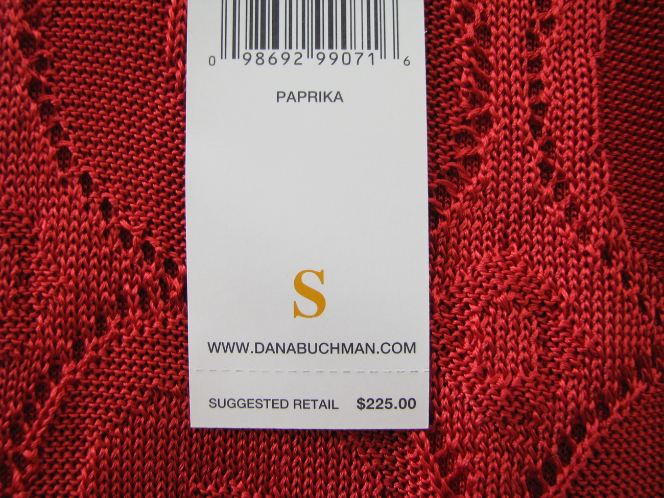Dana Buchman Tank Top BRAND NEW Deep Red Viscose Lined Sz Small Comfortable
