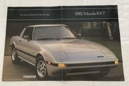 1982 Mazda RX-7 Dealer Sales Brochure Car Auto Advertising - $15.84