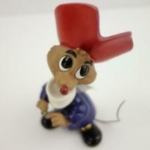 Rare 50th Anniversary Disney WDCC Ben and Me Amos Patriotic Mouse Figuri... - $96.65
