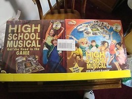 High School Musical 1 + 2 CD Board Games Walt Disney For Ages 7+ Mint Condition - $18.19