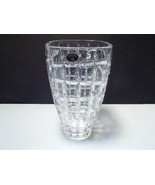 "Bohemia 8 1/4"" Crystal Vase ~~~~ a beauty w label - $25.95"