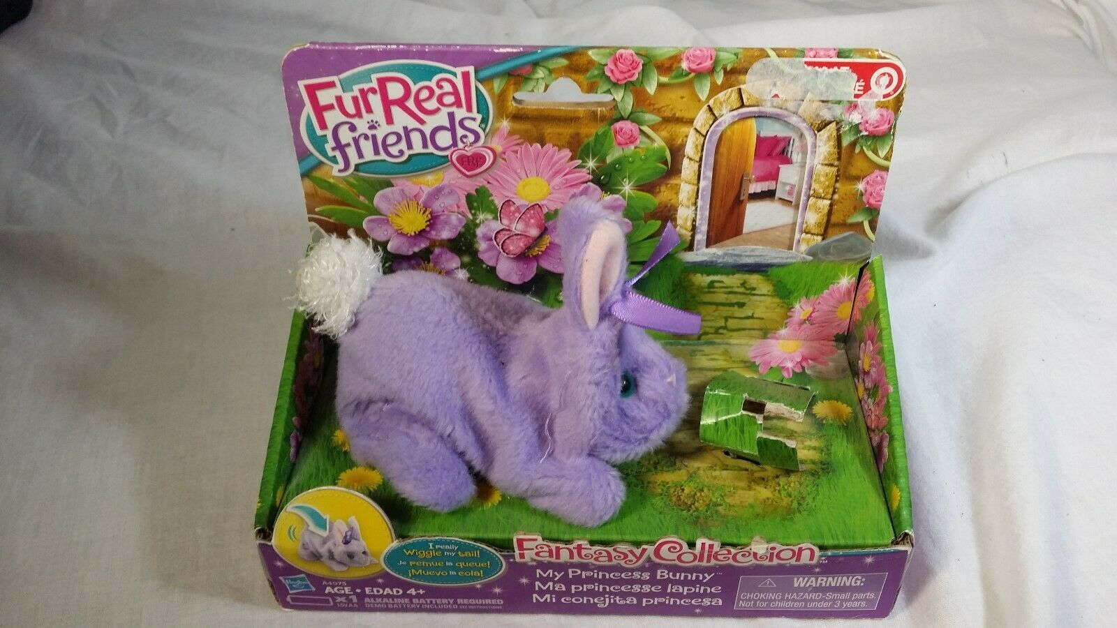 Fur Real Friends Fantasy Collection My Princess Bunny