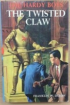 HARDY BOYS The Twisted Claw by Franklin W Dixon (1939) G&D HC - $12.86