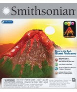 Smithsonian Glow in the Dark Giant Volcano Lava Glows at Night NEW - $14.99