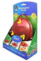 More Birds 30 Classic Brands 3-in-1 Humming Bird Feeder, 6 Fluid Ounce, ... - $13.52