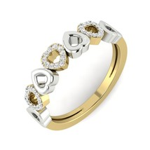 Beautiful Love Heart Design Ring Jewelry Gift For Mother Anniversary Rin... - $99.99