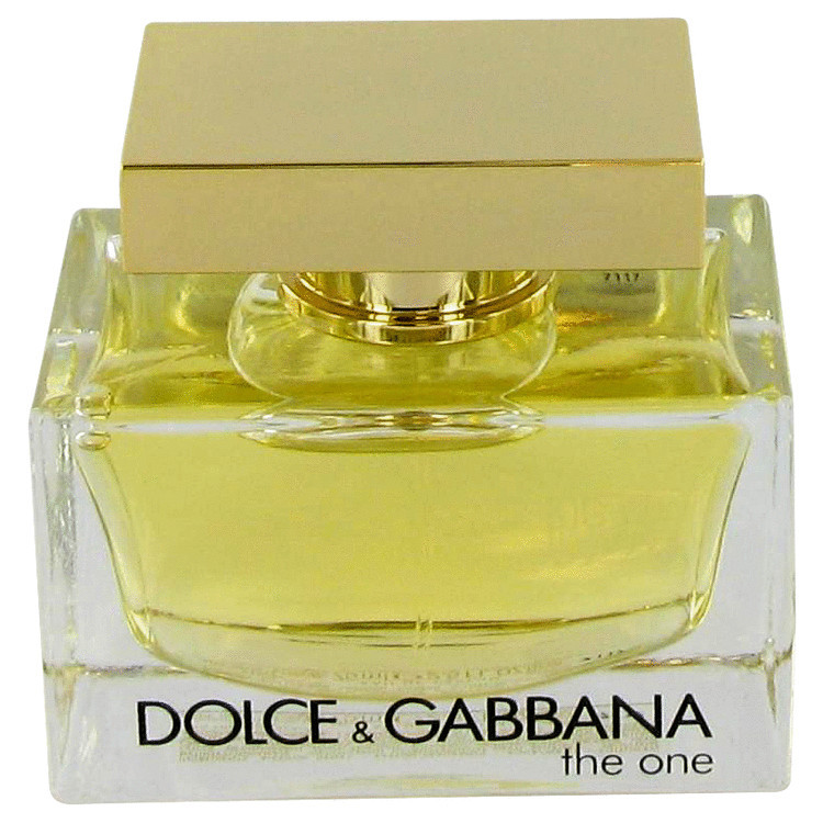 Aadolce   gabbana the one tester perfume