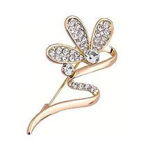 Women's Brooches Fashion Jewelry Pins Set of 2 Floral Brooches Wedding Gifts