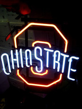 "New NCAA Ohio State University Beer Bar Neon Light Sign 17""x 14"" [High Q... - $129.00"