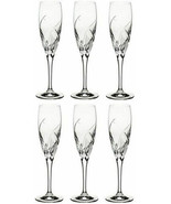 Da Vinci GROSSETO Champagne Flutes SET OF 6 NEW IN THE BOX - $158.39