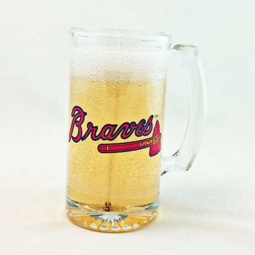 Primary image for Atlanta Braves Beer Gel Candle