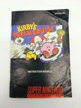 Kirby's Dream Course Instruction Booklet Manual Super Nintendo SNES image 1