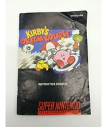 Kirby's Dream Course Instruction Booklet Manual Super Nintendo SNES - $19.34
