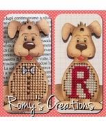 Dog Wooden Stitchable Kit cross stitch kit Romy's Creations  - $12.60