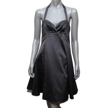 Forever 21 Womens Black Empire Waist Halter A-line Short Party Cocktail ... - $16.83