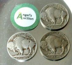 Buffalo Nickel 1917, 1918 and 1919 AA20BN-CN6075 image 3