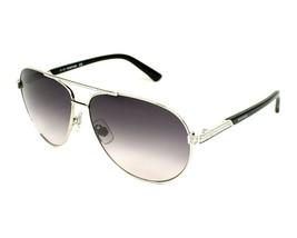 Swarovski SW78 16B Brillante Palladium Degradado Gris Lente Gafas de Sol... - $48.01