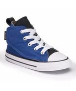 Infant Converse Sz 5 Chuck Taylor All Star Simple Blue Hi-Top Sneaker Ro... - $24.68
