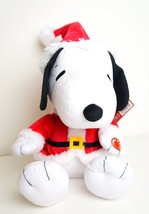 """Peanuts Santa Animated Snoopy Plush - Moves to """"Linus and Lucy"""" - Christ... - $32.95"""